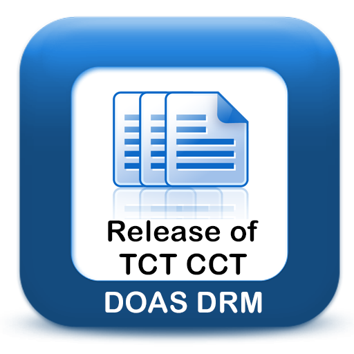 Release of TCT CCT DOAS DRM